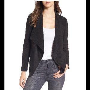 BB Dakota Suede Faux Blazer Jacket